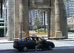 Taxi in Montevideo